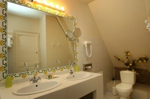 Chambre Dauphin 22 salle de bain hotel challans