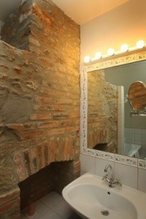 23 - Chambre Prince salle de bain hôtel restauarnt château de la vérie vendée challans